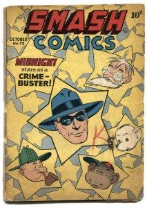 Smash Comics #73 1947- Lady Luck- Midnight G