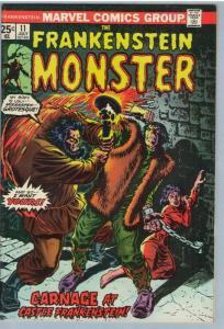 Frankenstein 11 Jul 1974 VF (8.0)