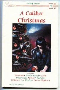 CALIBER CHRISTMAS #1 1989-Crow cover-Comic Book VF-