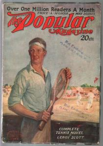Popular 5/20/1923-Edgar Franklin Whittman-adventure & mystery pulp-VG