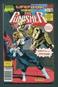 Punisher  Annual #3  / 9.0 VFN/NM  Newsstand  1990