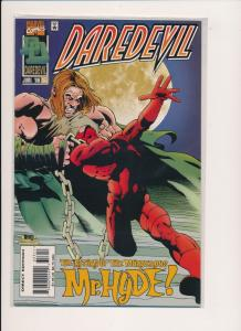 Marvel Comics DAREDEVIL #353 Mr. Hyde (1996) ~ NM (PF232)