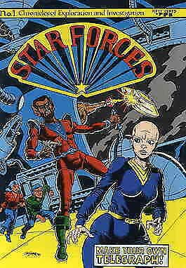 Star Forces #1 VG; The Other Faculty | low grade comic - save on shipping - deta