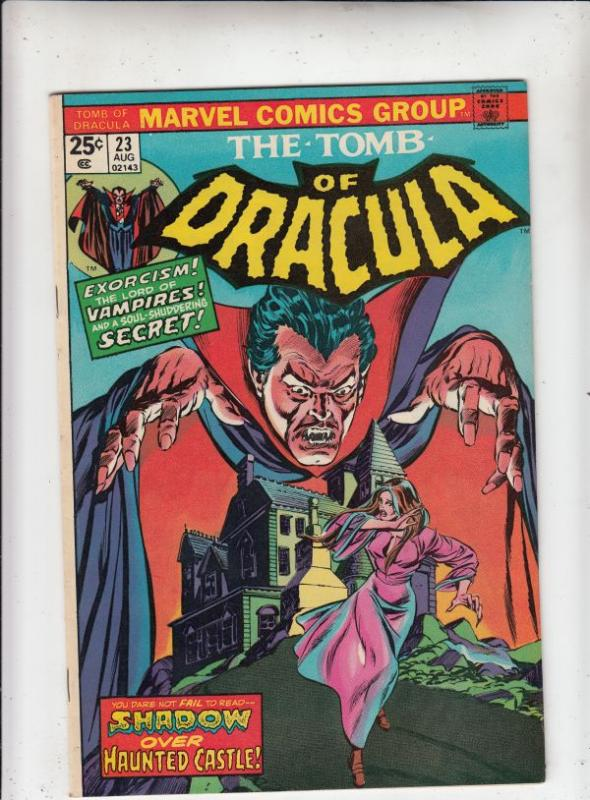 Tomb of Dracula #23 (Aug-74) NM- High-Grade Dracula