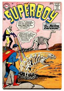 SUPERBOY #111 comic book-dinosaur cover-dc silver age