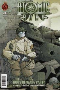 Atomic Robo: Dogs of War #1, NM (Stock photo)