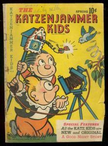 KATZENJAMMER KIDS #4 1947-CUCKOO CLOCK COVER-SLAPSTICK VG