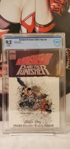 DAREDEVIL and THE PUNISHER - CHILD'S PLAY #1 CBC 9.2 Frank Miller