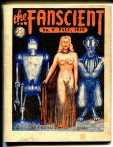 Fanscient #9 1949-Robert Heinlein checklist-Angelman-classic fanzine-VG/FN