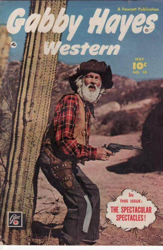 GABBY HAYES WESTERN #18 FAWCETT '50 EGYPTIAN COLLECTION FN