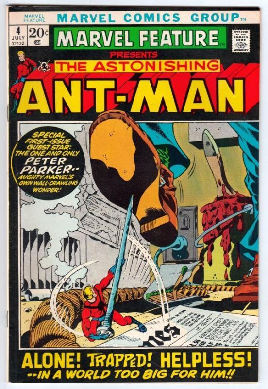 Marvel Feature 4 Presents The Astonishing Ant-Man  strict NM/NM- 9.2  High-Grade