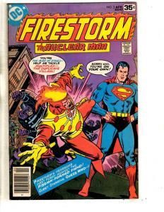 Lot Of 5 DC Comic Books Firestorm # 2 4 27 + Jonni Thunder # 1 3 JG7