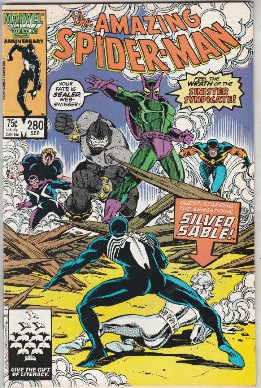 Amazing Spider-Man #280 (Sep-86) NM- High-Grade Spider-Man