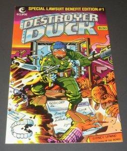 Destroyer Duck #1 FN/VF Jack Kirby/Neal Adams Cover 1st App. Groo The Wanderer