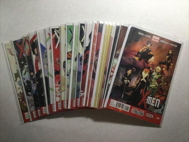 X-Men 1-20 Of 26 Lot Run Set Near Mint Nm Marvel
