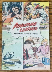 ADVENTURE IN LEATHER 1961 NEAL ADAMS ART TANDY GIVEAWAY PROMO PROMOTIONAL