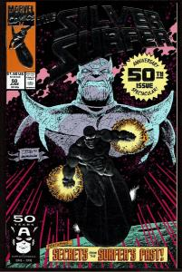 Silver Surfer #50 (Jun 1991, Marvel) 9.2 NM-