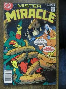 MISTER MIRACLE 23 F-VF Mike GOLDEN 4/1978 COMICS BOOK