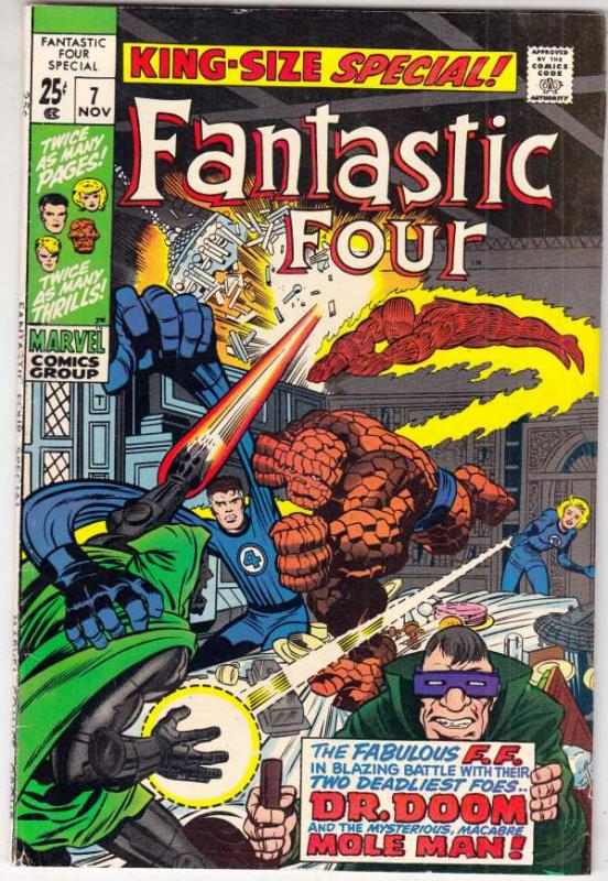 Fantastic Four King-Size Special #7 (Nov-69) NM- High-Grade Fantastic Four, M...