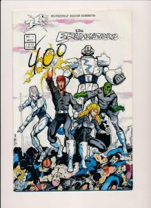 Silver Wolf Comics THE ERADICATORS #1, 1R (reprint), #3 ~ VF/NM (HX835) 3 comics