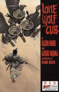 Lone Wolf and Cub #4 FN; First | save on shipping - details inside