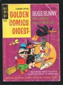 Golden Comics Digest #26 1972-Bugs Bunny Halloween Hula-Boo-Looe-Porky Pig-G