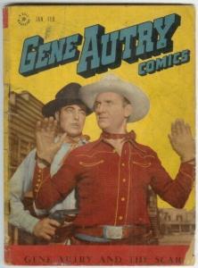 GENE AUTRY (1943-1959 FAWCETT/DELL) 5 FR-G PHOTOCOVER : COMICS BOOK