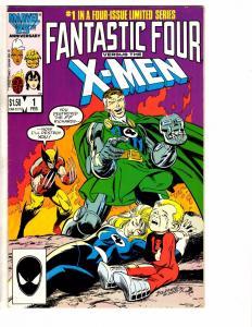 5 Marvel Comics F Four Vs. The X-Men # 1 4 & Fantastic Force 1 & 2099 # 1 2 J202