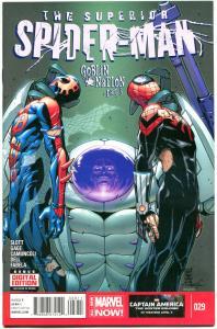 SUPERIOR SPIDER-MAN #29, VF, Dan Slott, Marvel, Goblin Nation, more ASM in store
