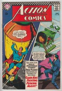 Action Comics #348 (Mar-67) FN+ Mid-High-Grade Superman