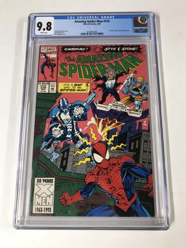 Amazing Spider-Man #376 CGC 9.8