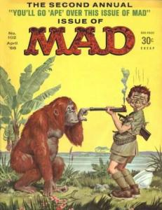 Mad #102, VG- (Stock photo)