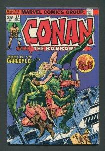 Conan The Barbarian #42 / 7.0 FN/VFN  September 1974