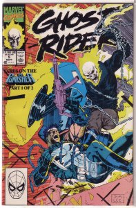 Ghost Rider (vol. 3, 1990) # 5 FN Mackie/Saltares, Jim Lee cover, Punisher