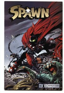 SPAWN #134 2004 Low print run-Image comic book