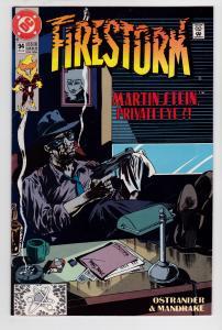 Fury of Firestorm #94 (2nd Series, 1982)   8.0 VF