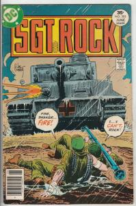 Sgt. Rock #305 (Jun-77) FN/VF Mid-High-Grade Sgt. Rock, Easy Co.