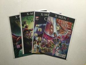 Civil War II X-Men 1-4 1 2 3 4 Lot Run Set Near Mint Nm Marvel