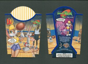 Michael Jordan Space Jam: McDonald's French Fry Promo MINT 1996