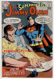 SUPERMAN'S PAL JIMMY OLSEN #129, FN+ to VF, Prophecy, Trophies, 1970