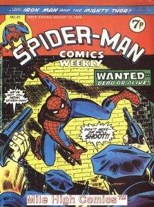 SPIDER-MAN WEEKLY  (#229-230) (UK MAG) (1973 Series) #81 Fine