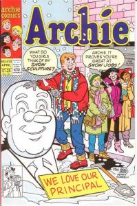 ARCHIE  (1942-     )410 VF-NM April 1990 COMICS BOOK