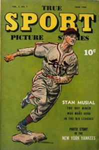 True Sport Picture Stories #19 FAIR; Street And Smith   low grade comic - save o