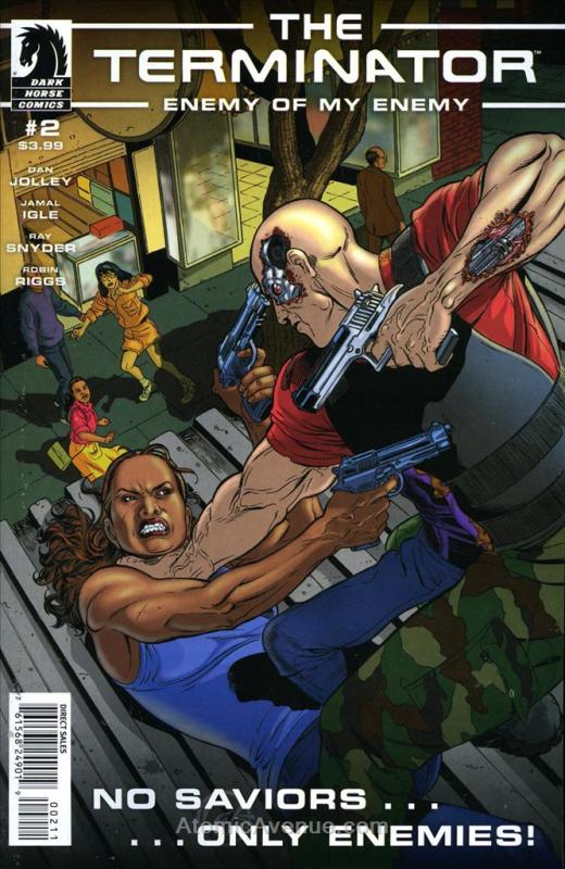 Terminator, The: Enemy of My Enemy #2 VF/NM; Dark Horse | save on shipping - det