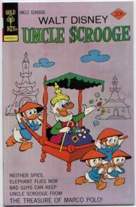 Uncle Scrooge #134 NM+ 9.6 (Gold Key, 1976)  ORIGINAL OWNER - UNREAD!