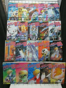 Area 88 (Eclipse 1987) #1-40 Lot of 30Diff Top Gun Drama! SNES UN Squadron!