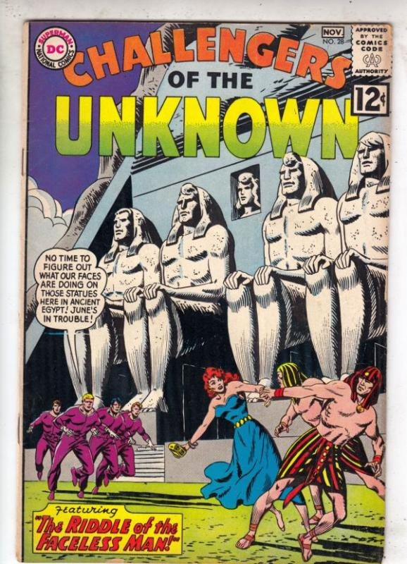 Challengers of the Unknown #28 (Oct-62) VG/FN Mid-Grade Challengers of the Un...