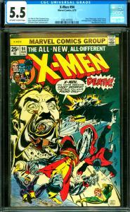 X-Men #94 CGC 5.5 New X-Men Begin