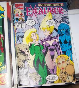 Excalibur # 46 j 1992, Marvel  x men PHOENIX NIGHTCRAWLER KITTTY