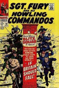 Sgt. Fury #48, VG+ (Stock photo)